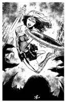 WonderWoman by lenocarvalho
