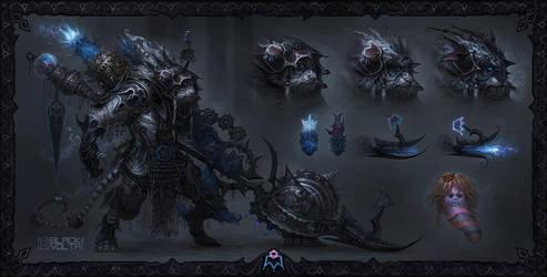 Ghallar The Anti King by trejoeeee