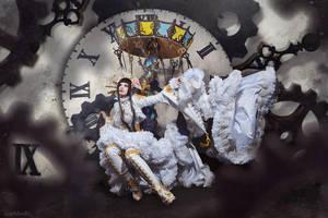 ScissorsCrown: White Queen? by Astarohime