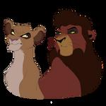 two demons by NiusJose