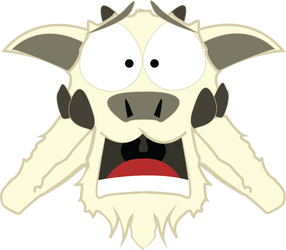 Oh my goat exclamation mark by Somebodylost