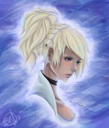 Lady Lunafreya by AzaliahArtz