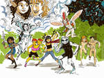 Webcomix United Extravaganza by TheCosmicBeholder