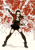 Scarlet Witch Age Of Ultron by TheCosmicBeholder
