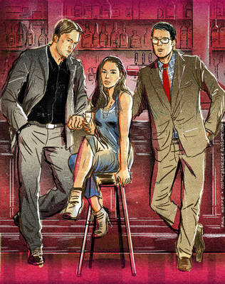 Bruce Wayne, Diana Prince, Clark Kent by TheCosmicBeholder