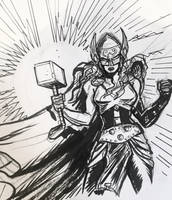 Mighty Thor by TheCosmicBeholder