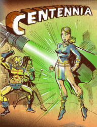 Centennia ComicBook Cover by TheCosmicBeholder