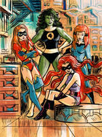 Favorite Fantastic Four Substitutes by TheCosmicBeholder