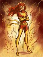 Dark Phoenix by TheCosmicBeholder