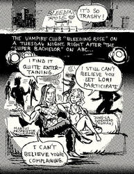 Ghouls At The Vampire Club Page1 by TheCosmicBeholder