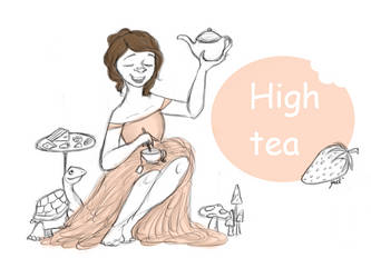 High Tea by BoogieSnail