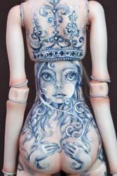 Mermaid Song Tattoo by Marina-B
