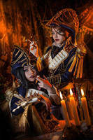 Trinity Blood - Jane and Mary by AtunaCosplay