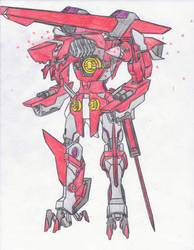 GNB-001Gundam Dragoon Halberd by Zerg170