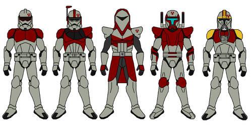 dragon fleet advanced clone troopers by Zerg170
