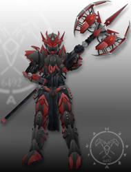 asw g xx1d gundam draconis rex titan armor by Zerg170