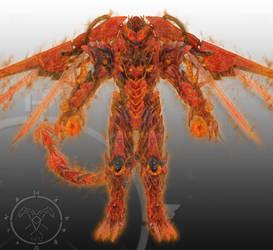 Draconis Rex Fire God Mode by Zerg170
