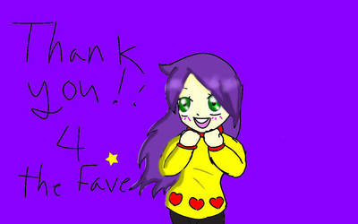 Fave thanx by ChibiTacoLord