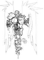 Mummy Demon Thingie by breakbot