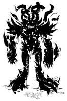 Gooey Black Demon Thingie by breakbot
