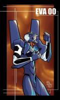 Evangelion 00 by breakbot