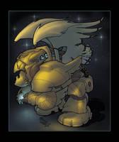 Glowbot by breakbot
