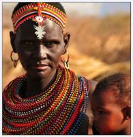 Samburu Mother by Arathrim