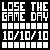 10-10-10 The Game Avatar by xNarc0tic