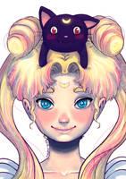 Princess Serenity by PixelationGirl