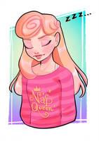 Aurora Slumber Party by PixelationGirl