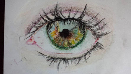Eye Close Up: Pastel by Msdirection