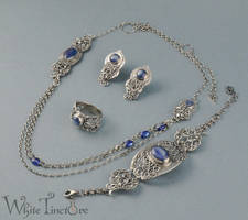 Tangled Blue by WhiteTincture