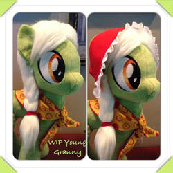 WIP young Granny Smith by Littlestplushoppe