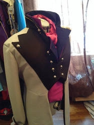 Prince Hans WIP by Littlestplushoppe