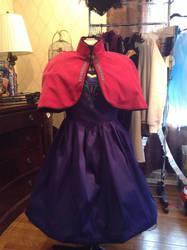 Frozen inspired costume by Littlestplushoppe