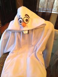 Olaf hoodie by Littlestplushoppe