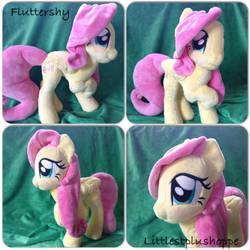SOLD Fluttershy plush by Littlestplushoppe