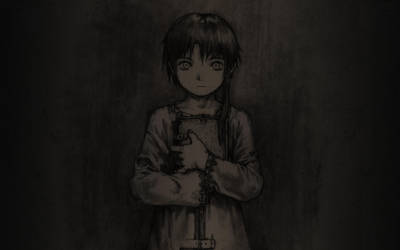 Another Lain Wallpaper by Akazukinto
