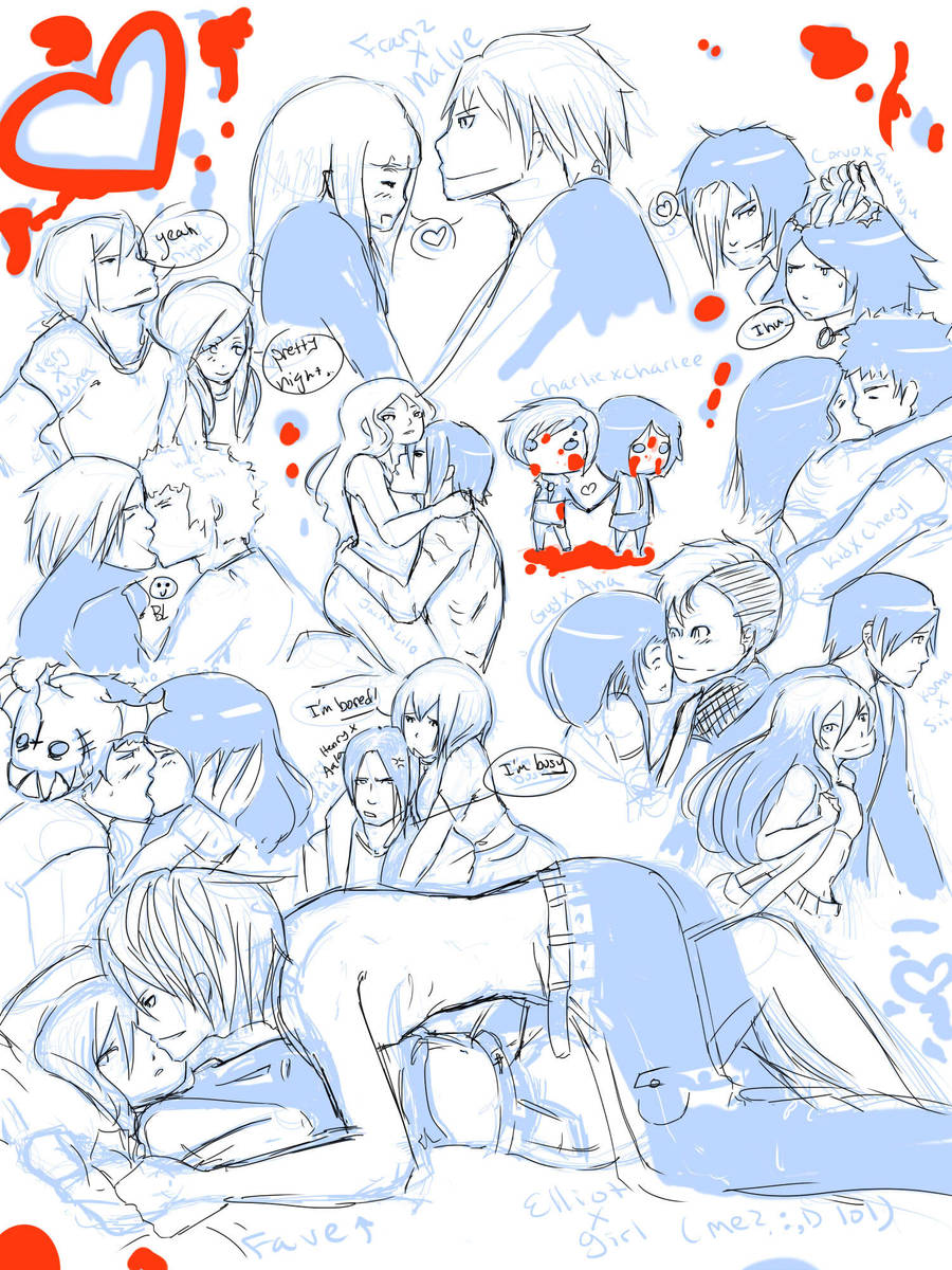 Practice: Couples by Chiiasa