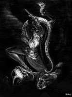 snake lord shaded version by BigBoyBoon