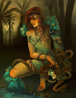 peacock pirate king by BigBoyBoon