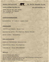 Resume by elgatonegro13