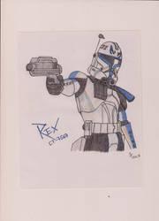 Rex (CT-7567) - Ont tought Clone by AhsokaTano-Skywalker