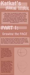 Drawing Tutorial - Face by Katkat-Tan