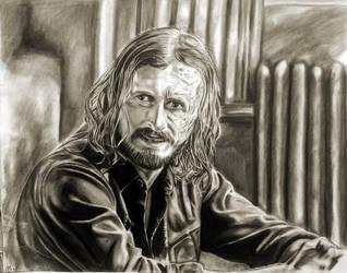 Dwight Portrait by mchofmann