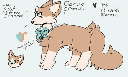 Darcie ref by ObnoxiousOwly