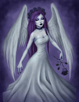 Angel of Sorrow by Hollilicious