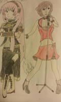 Vocaloid Series - 3 - Megurine Luka  Meiko by Some-Genius