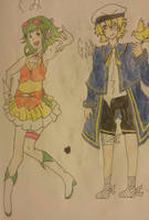 Vocaloid Series - 5 - Gumi  Oliver by Some-Genius