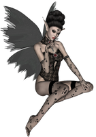 Dark Fairy 3 by TamaraWiditz